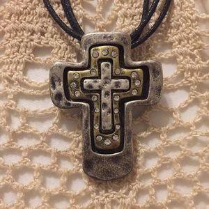 Premier Cross Pendant Necklace